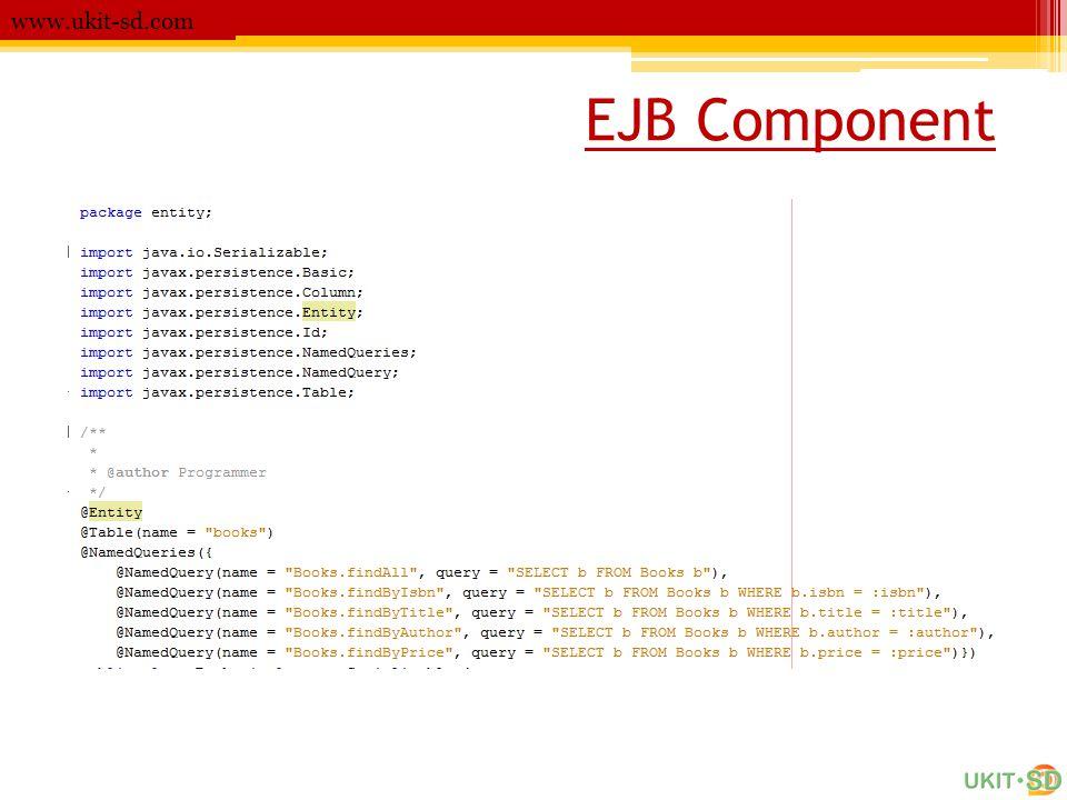 www.ukit-sd.com EJB Component