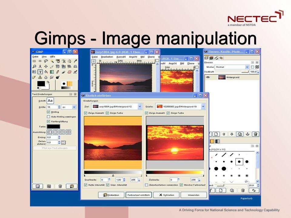 Gimps - Image manipulation