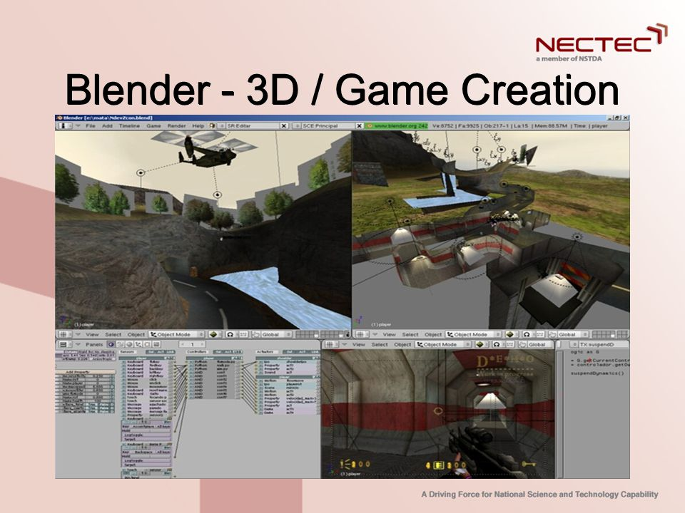 Blender - 3D / Game Creation
