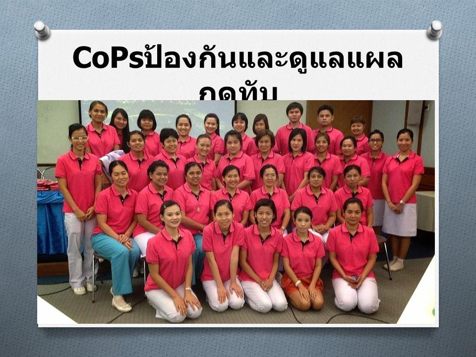 CoPsป้องกันและดูแลแผลกดทับ