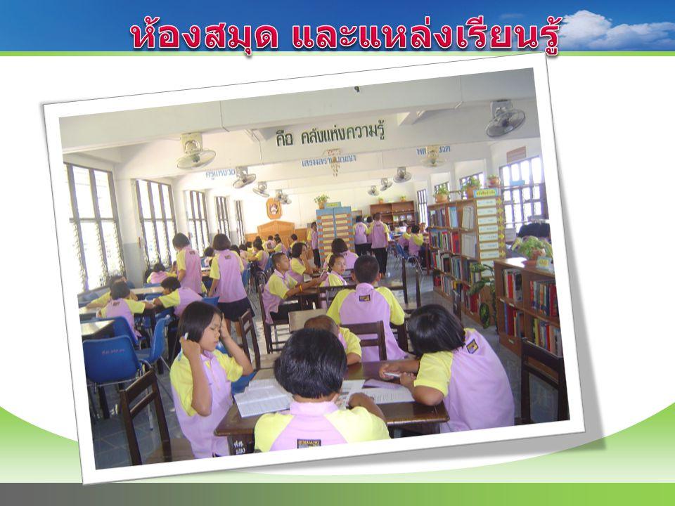 ห้องสมุด และแหล่งเรียนรู้