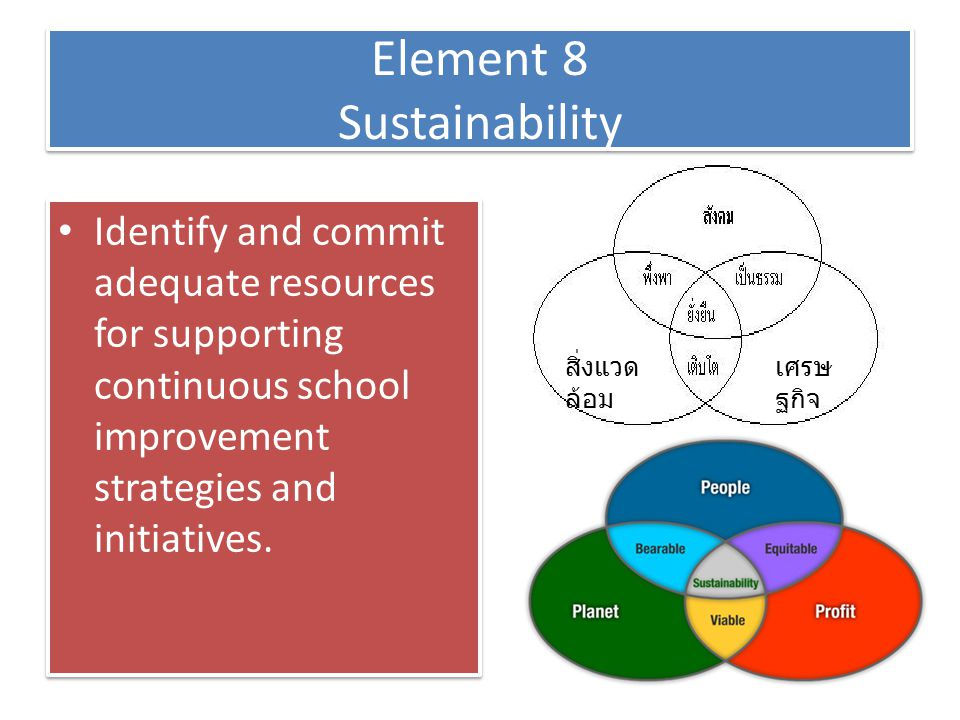 Element 8 Sustainability