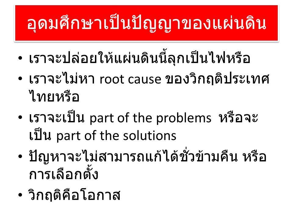 อุดมศึกษาเป็นปัญญาของแผ่นดิน