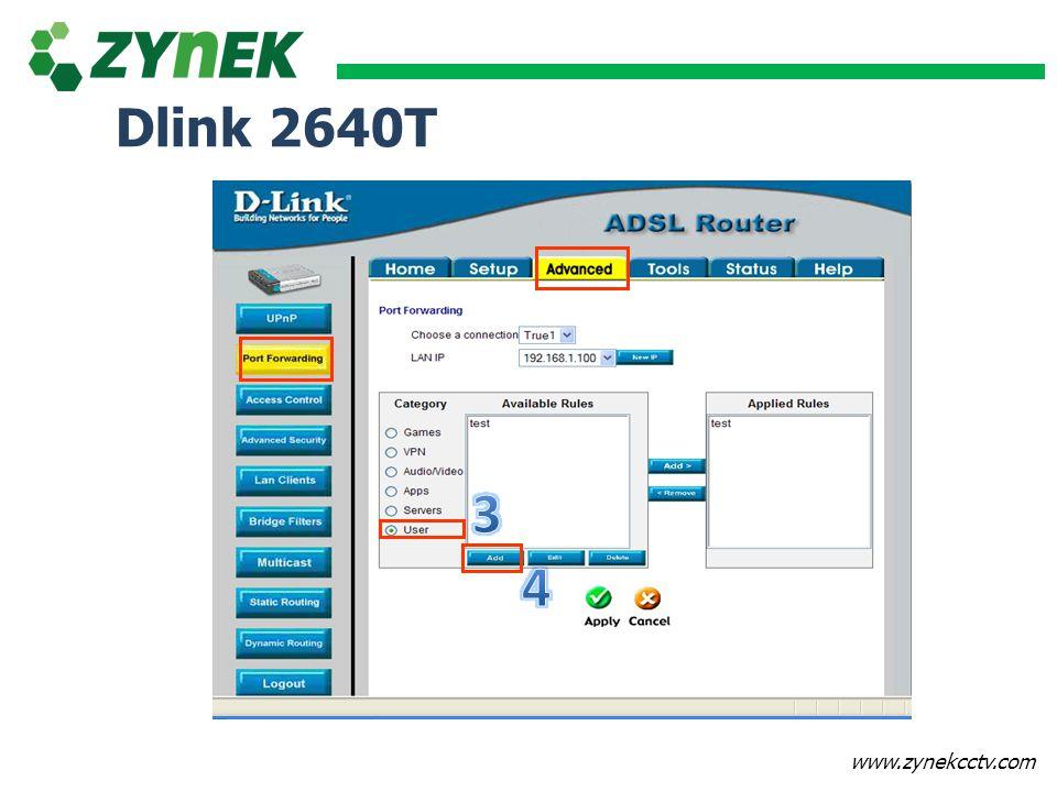 Dlink 2640T 3 4