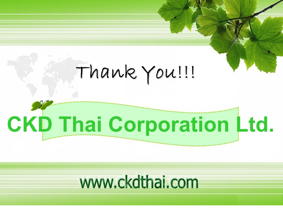 CKD Thai Corporation Ltd.