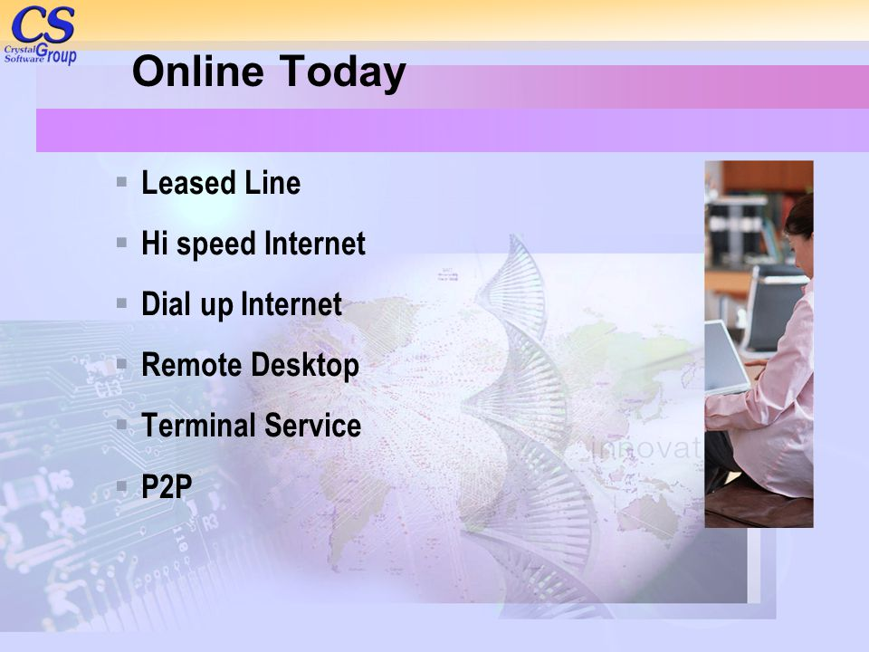 Online Today Leased Line Hi speed Internet Dial up Internet
