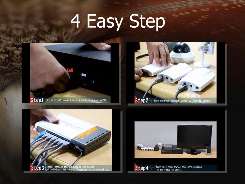 4 Easy Step