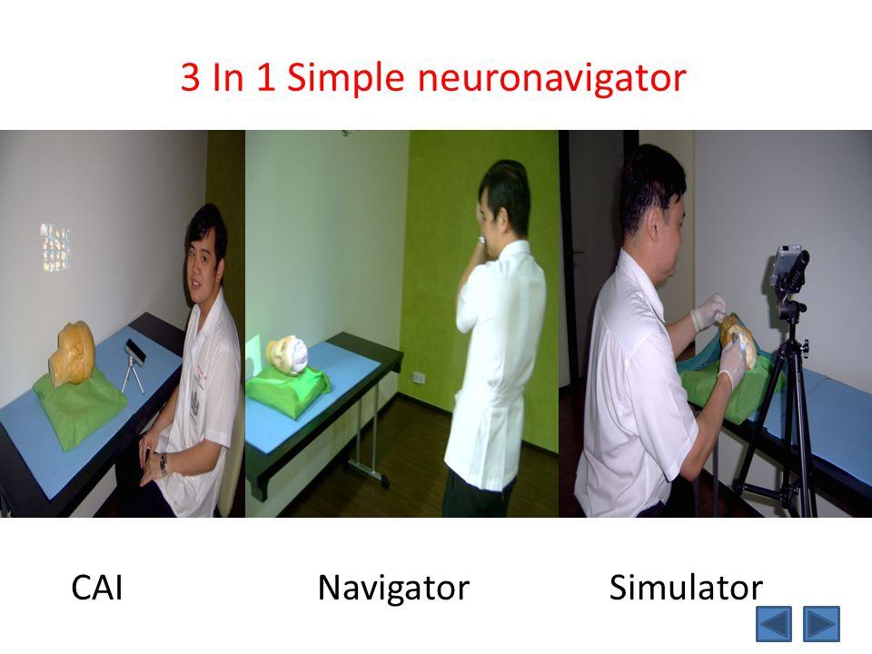 3 In 1 Simple neuronavigator