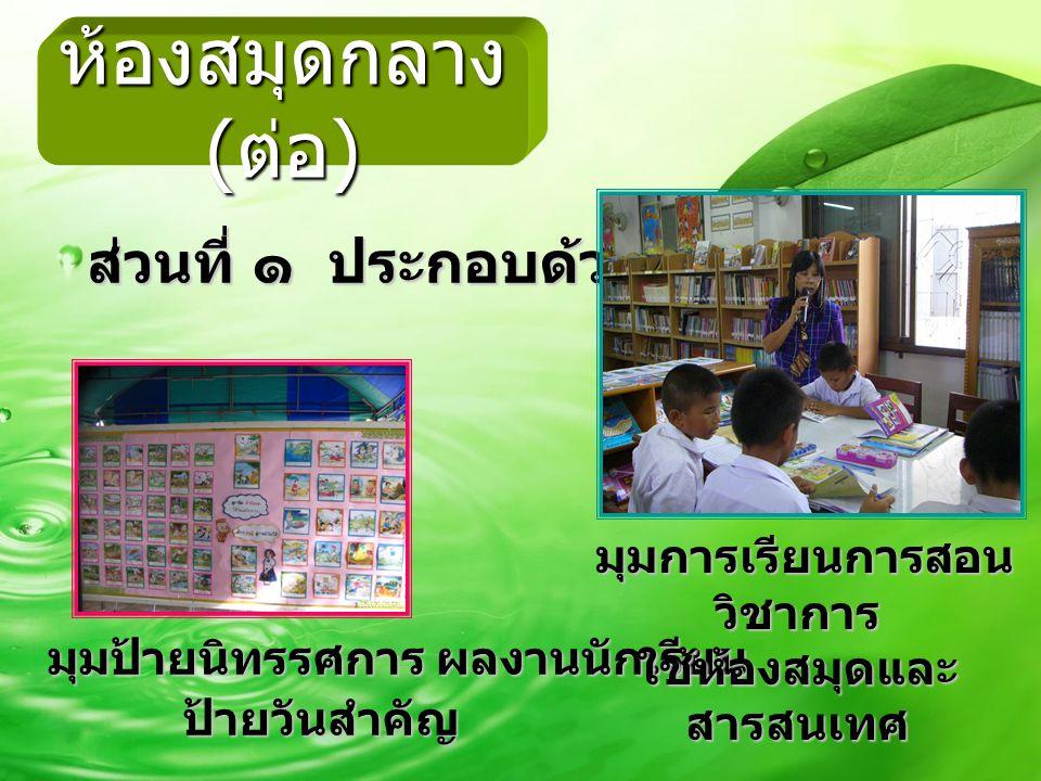 ใช้ห้องสมุดและสารสนเทศ