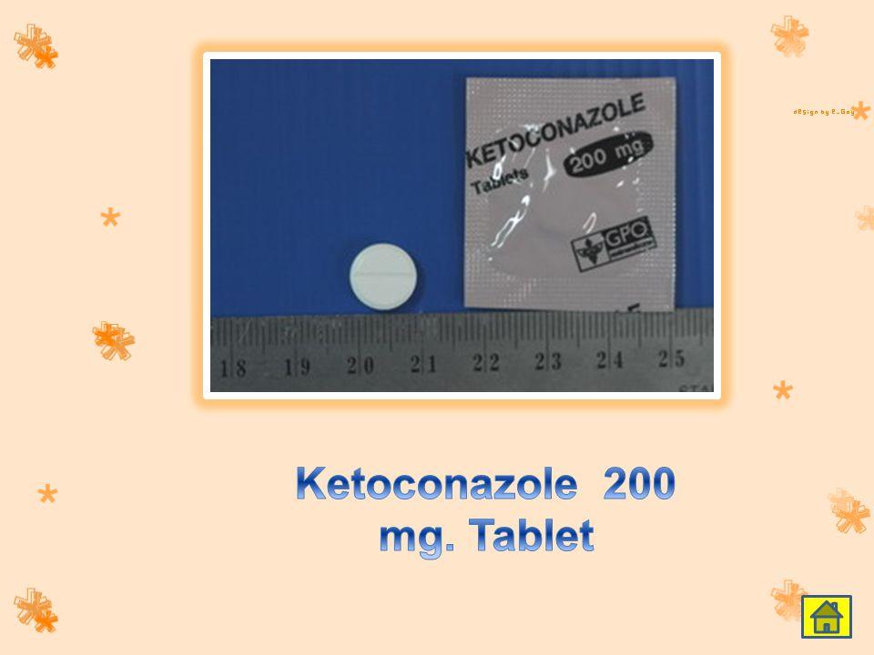 Ketoconazole 200 mg. Tablet
