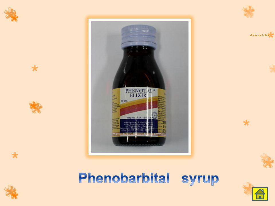 Phenobarbital syrup