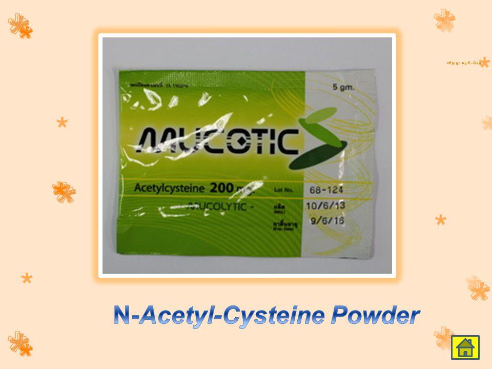 N-Acetyl-Cysteine Powder