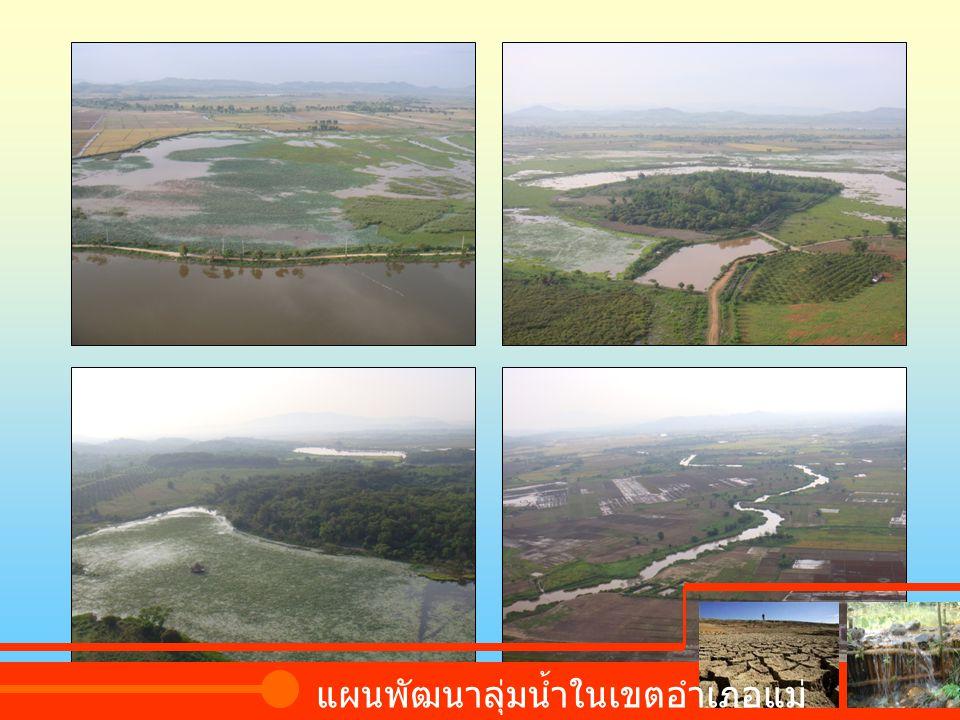 แผนพัฒนาลุ่มน้ำในเขตอำเภอแม่จัน