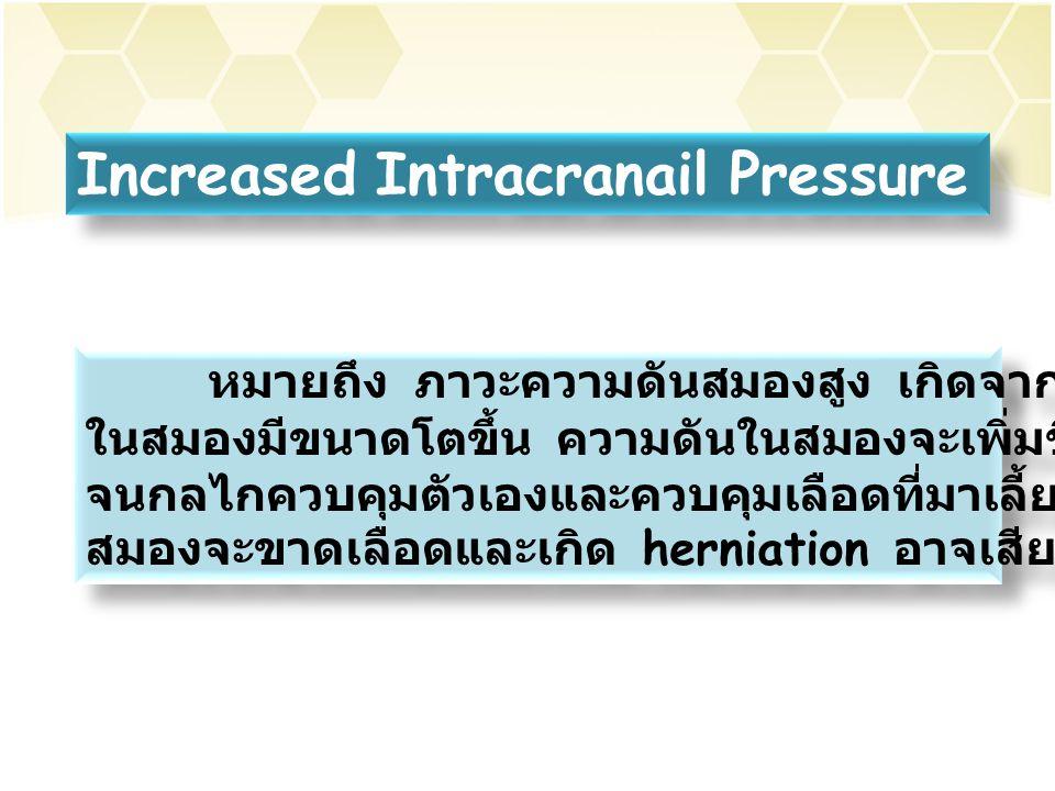 Increased Intracranail Pressure