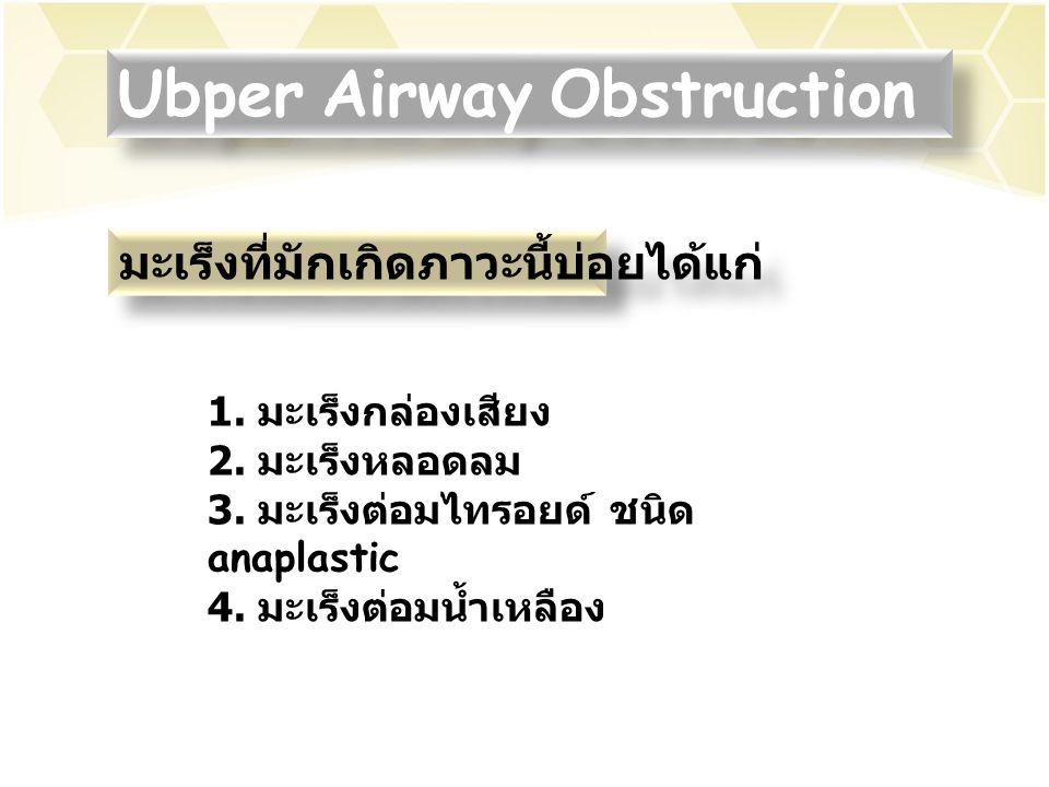 Ubper Airway Obstruction