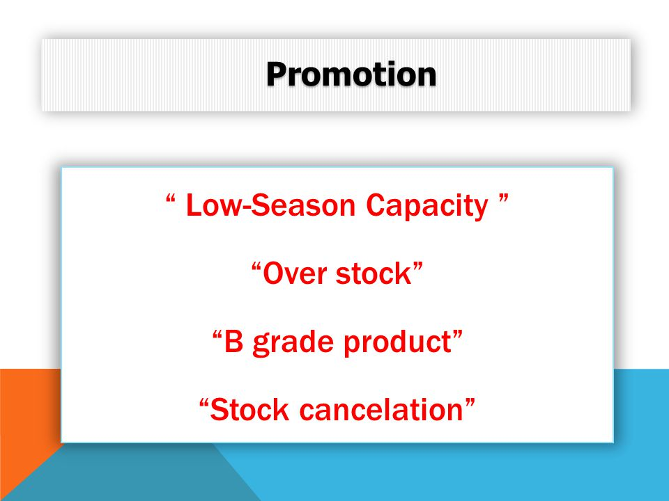 Low-Season Capacity
