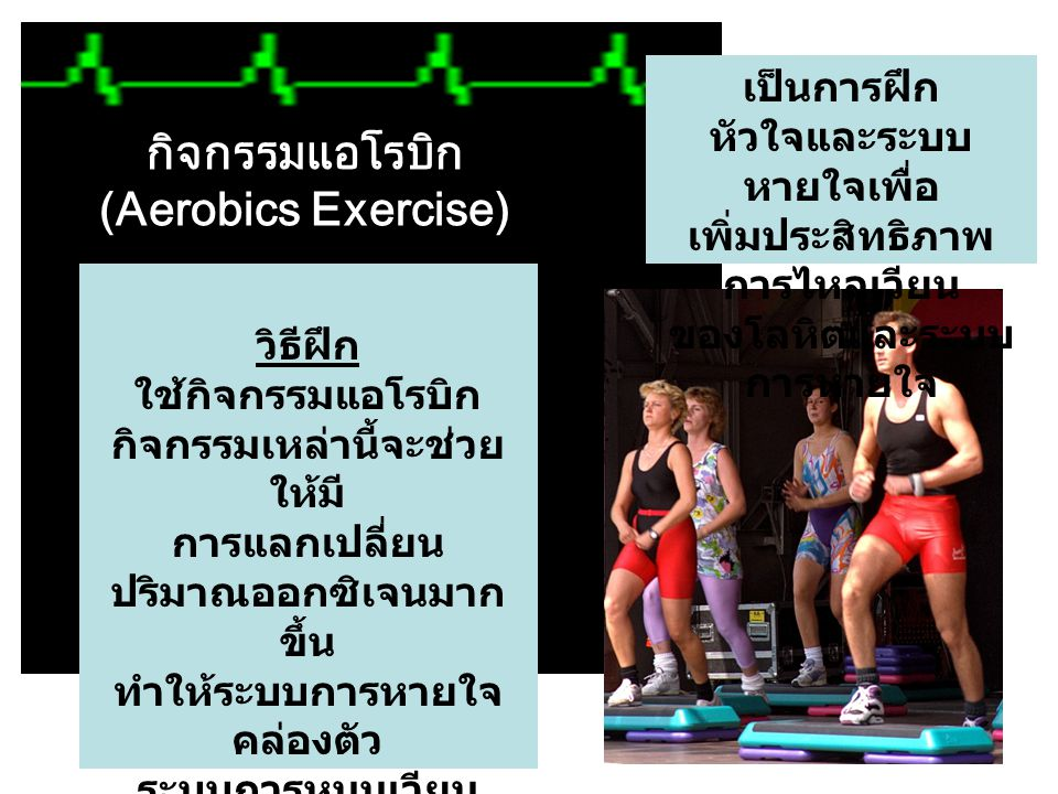 กิจกรรมแอโรบิก (Aerobics Exercise)