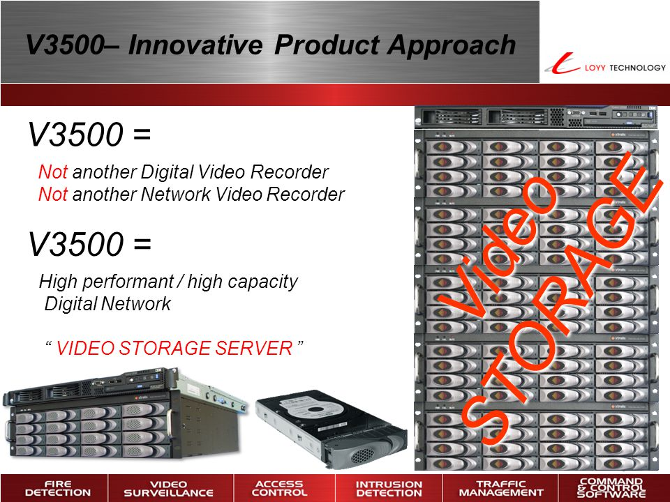 V3500– Innovative Product Approach