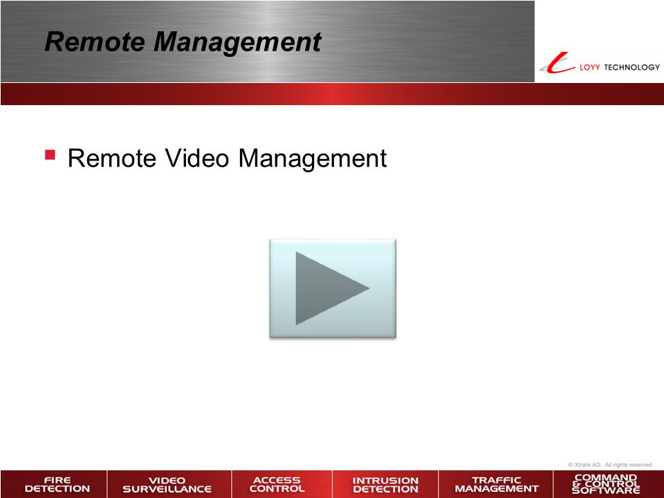 Remote Management Remote Video Management