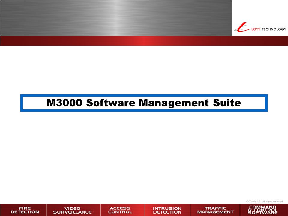 M3000 Software Management Suite