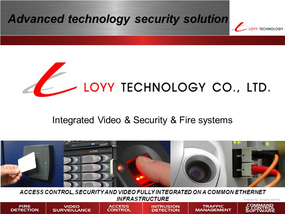 Integrated Video & Security & Fire systems