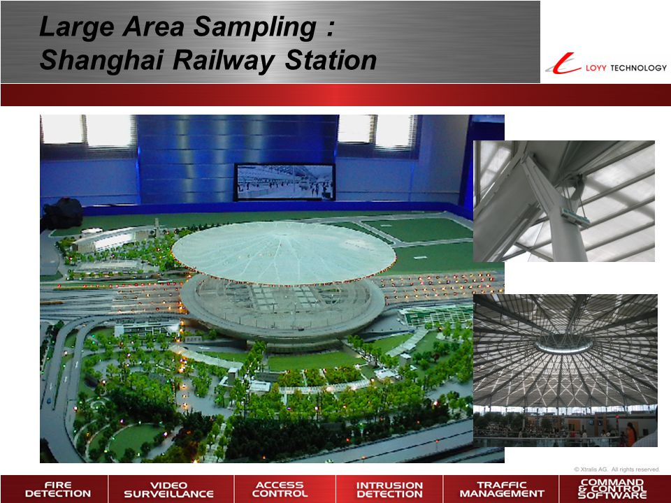 Large Area Sampling : Shanghai Railway Station