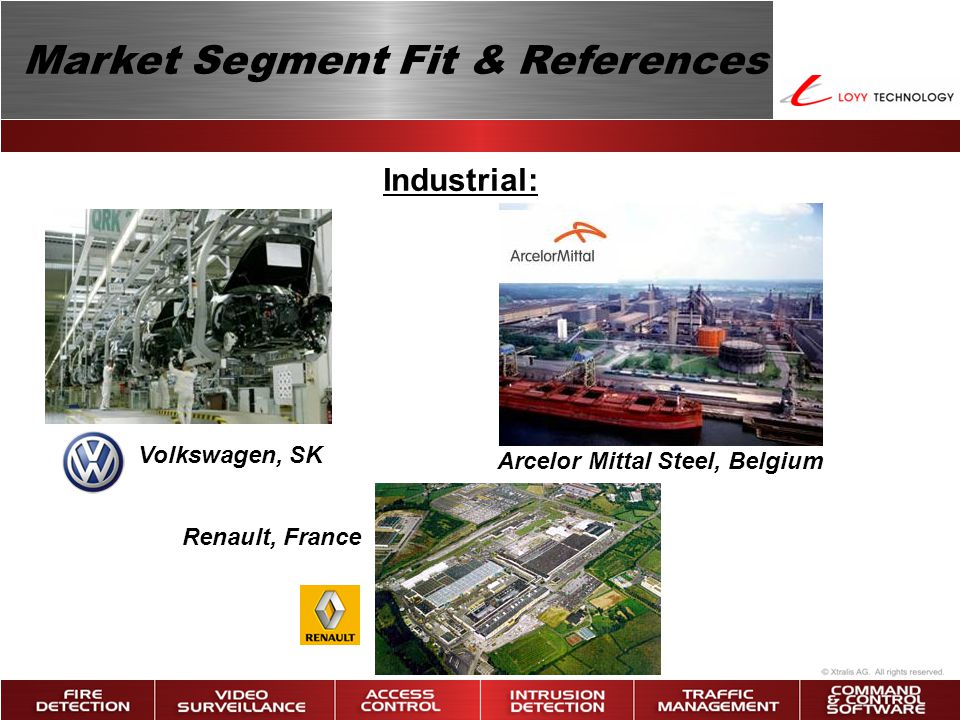 Market Segment Fit & References