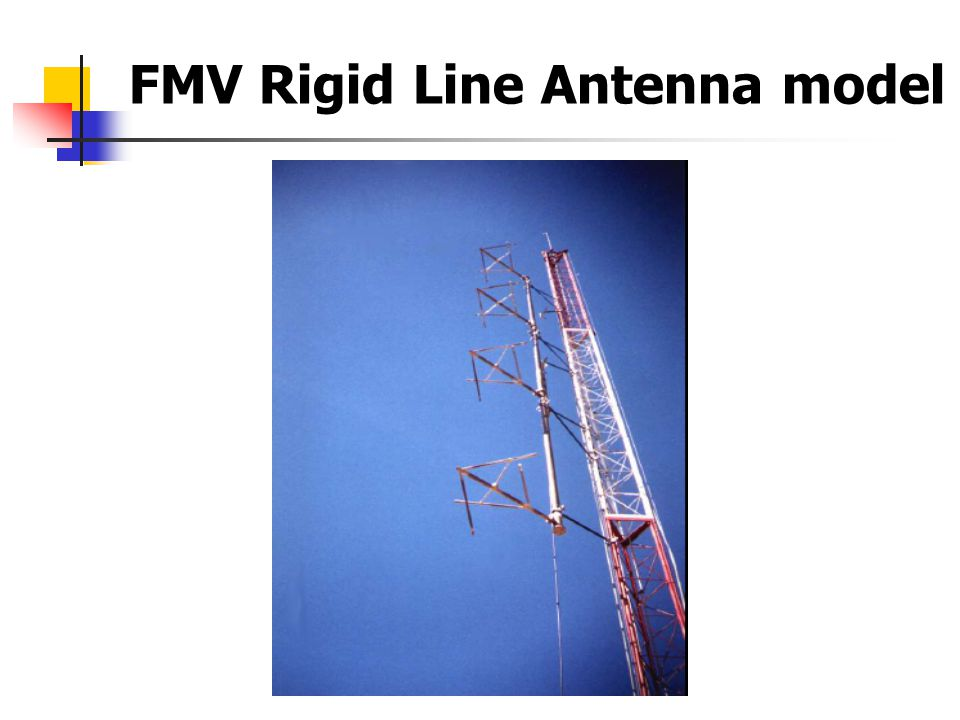 FMV Rigid Line Antenna model