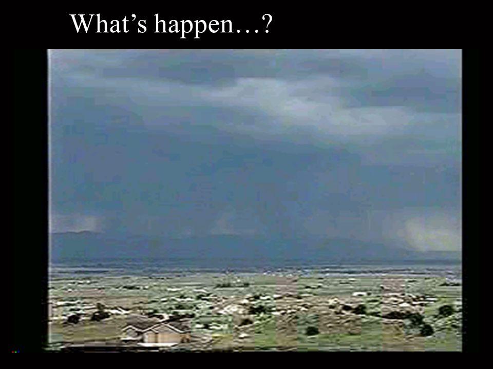 What's happen…
