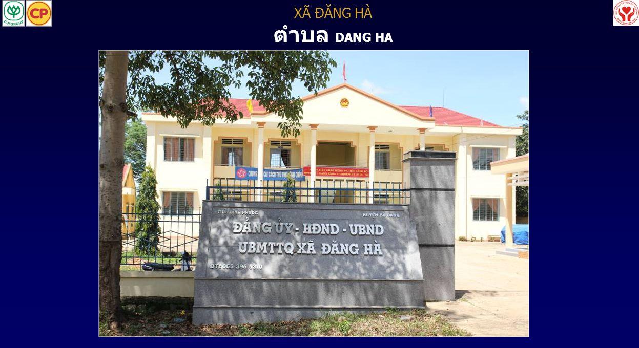 XÃ ĐĂNG HÀ ตำบล DANG HA 10