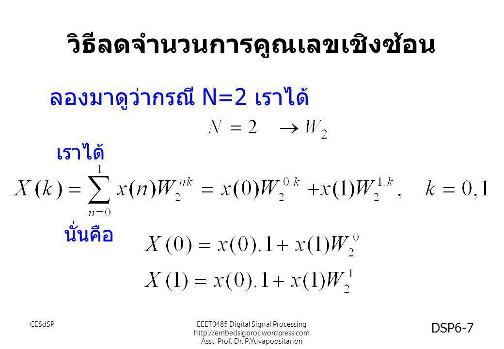 วิธีลดจำนวนการคูณเลขเชิงซ้อน