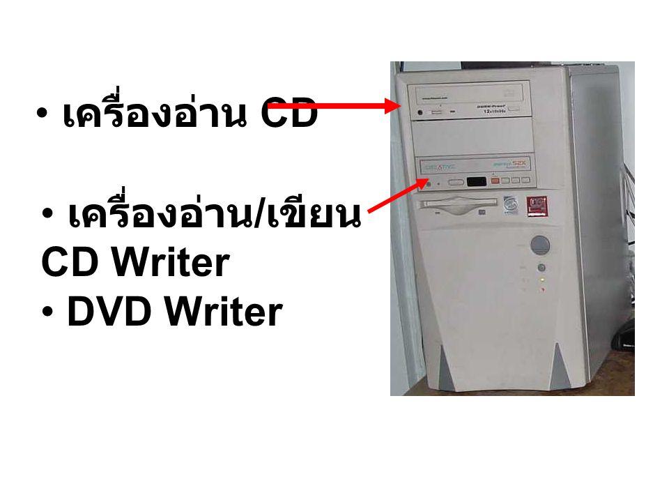 เครื่องอ่าน CD เครื่องอ่าน/เขียน CD Writer DVD Writer