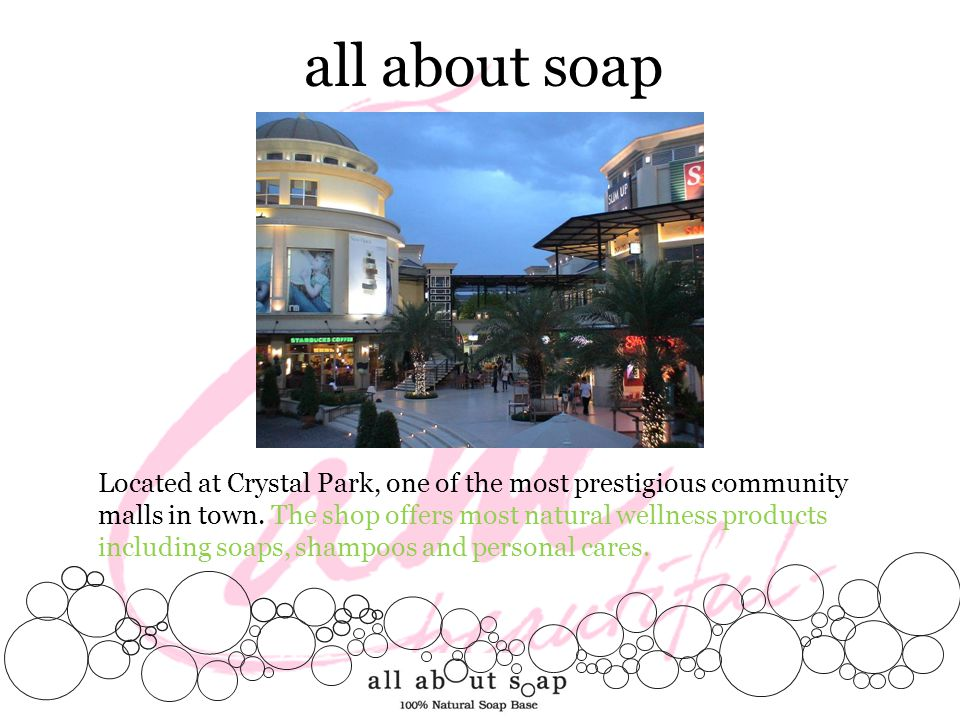 all about soap