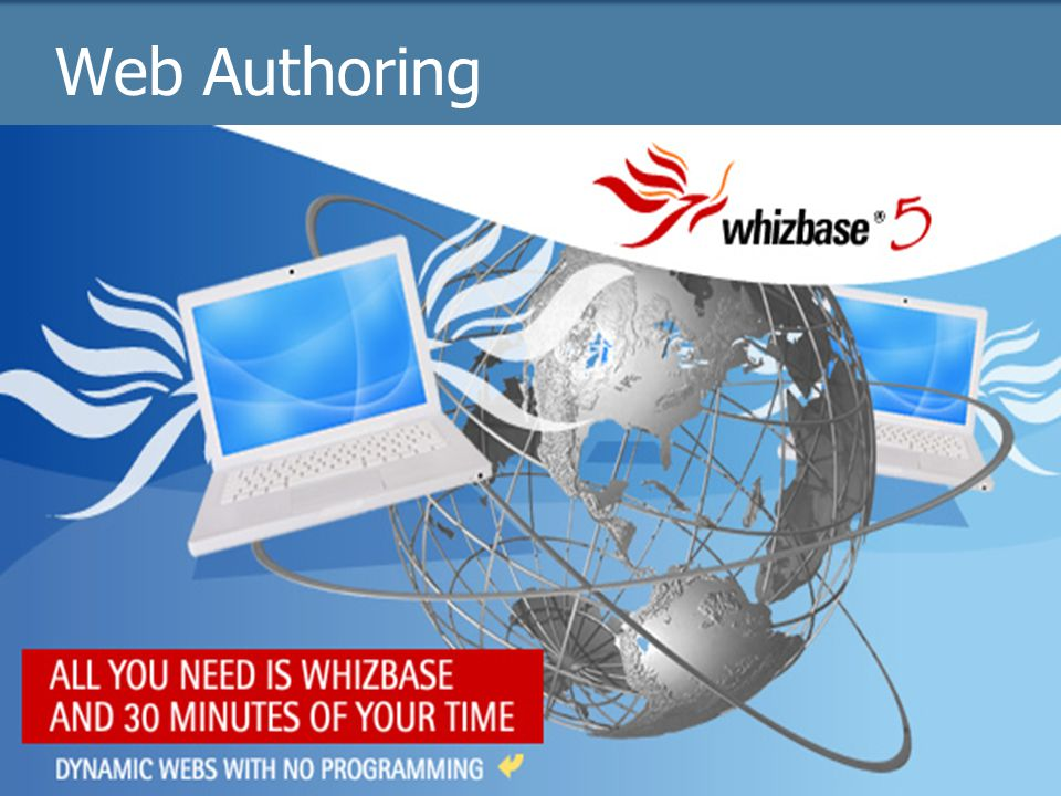 Web Authoring