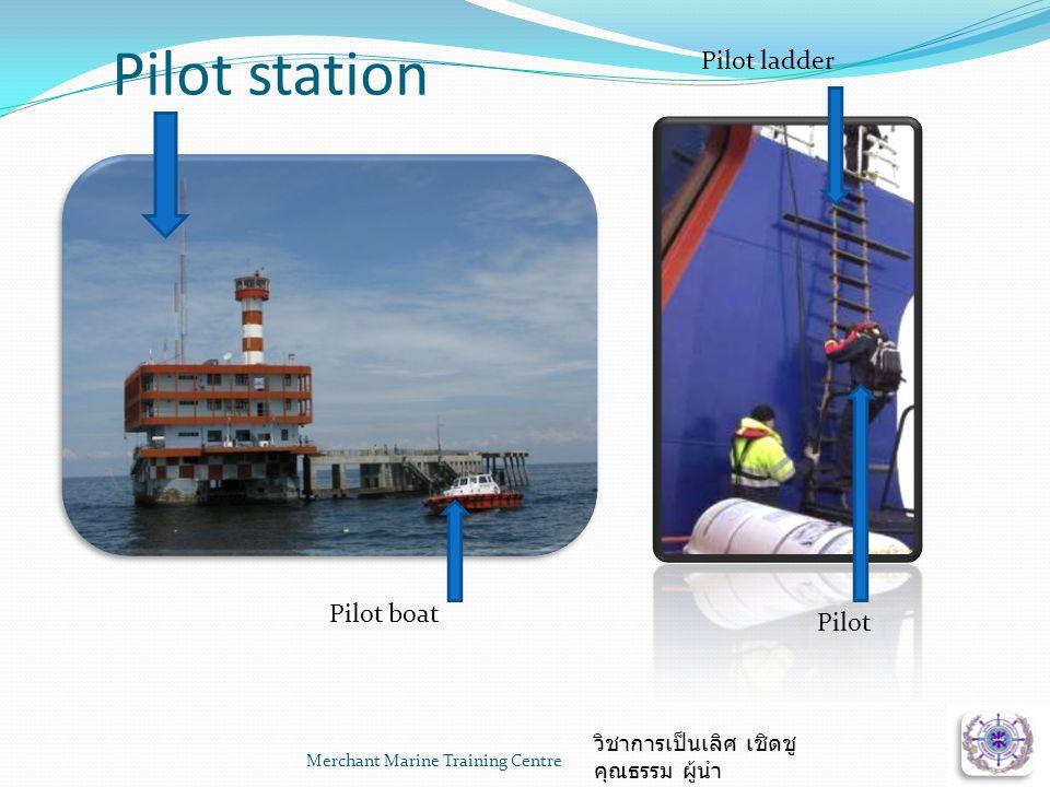 Pilot station Pilot ladder Pilot boat Pilot