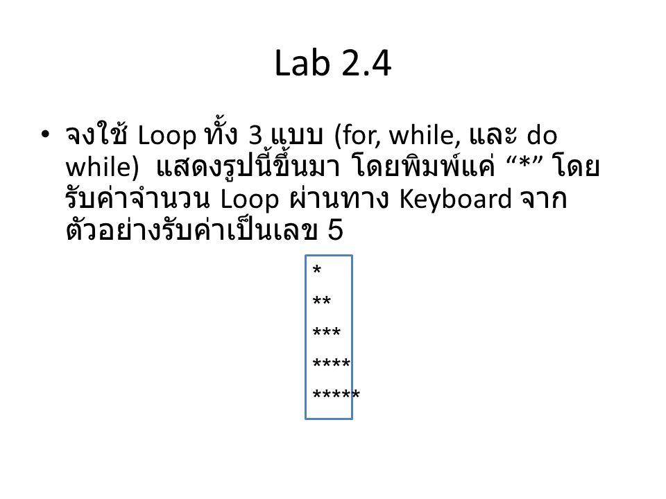 Lab 2.4
