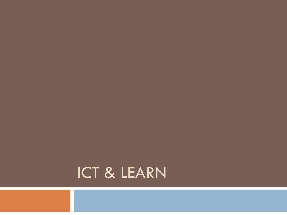 ICT & LEARN