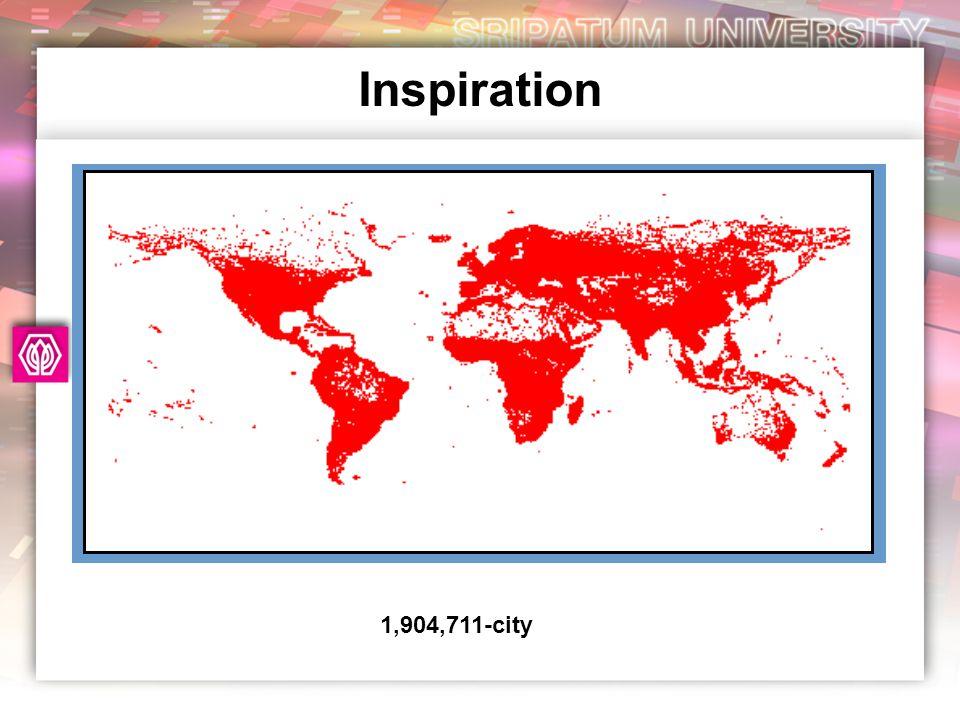 Inspiration 1,904,711-city