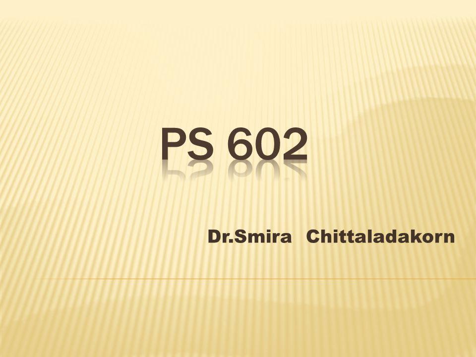 Dr.Smira Chittaladakorn