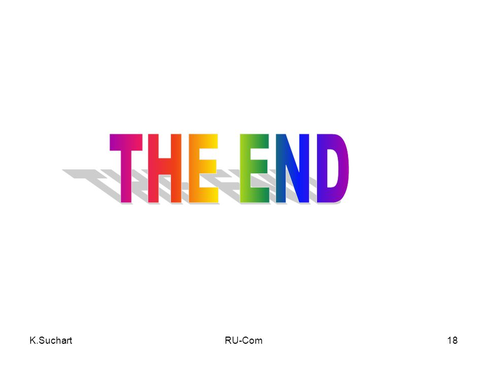 THE END K.Suchart RU-Com