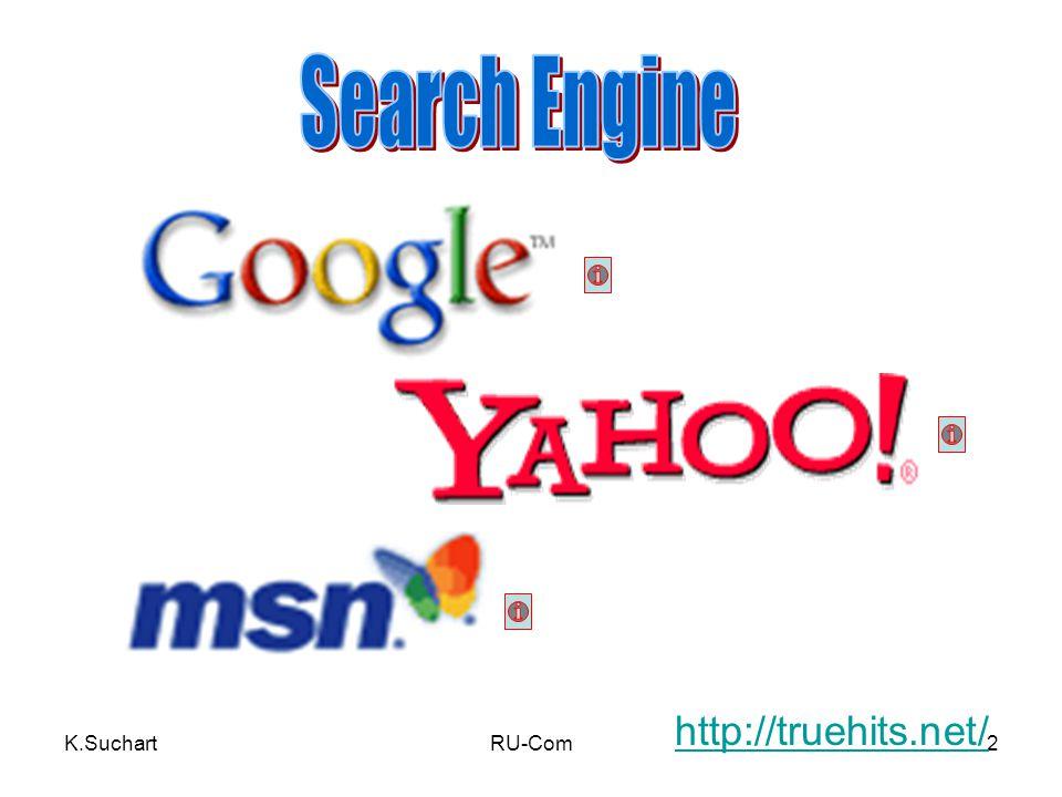 Search Engine http://truehits.net/ K.Suchart RU-Com