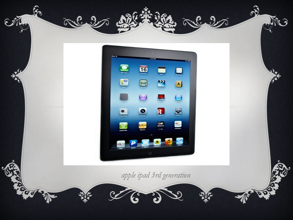 apple ipad 3rd generation