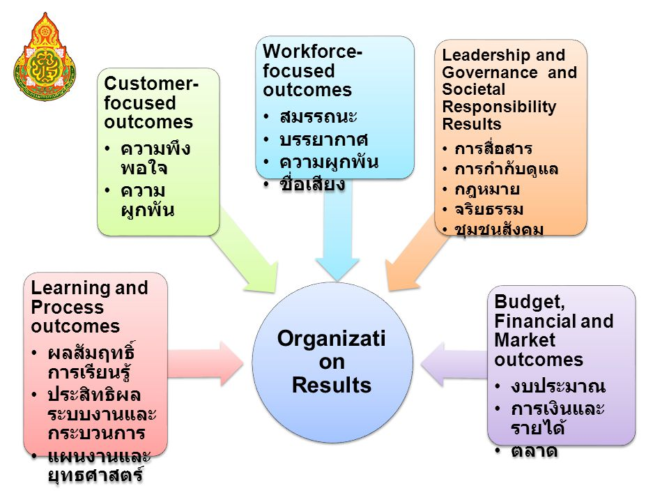 Organization Results Learning and Process outcomes