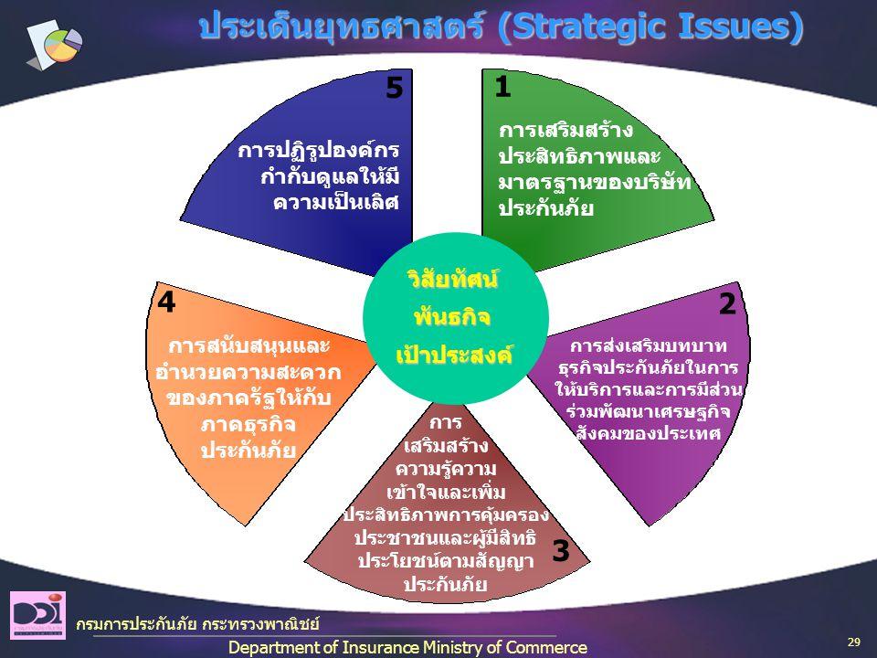 ประเด็นยุทธศาสตร์ (Strategic Issues)