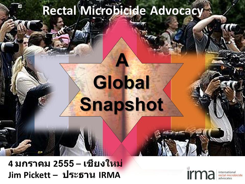 Rectal Microbicide Advocacy
