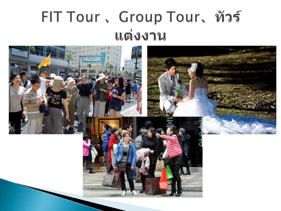 FIT Tour 、Group Tour、ทัวร์แต่งงาน