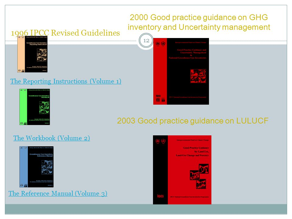 1996 IPCC Revised Guidelines