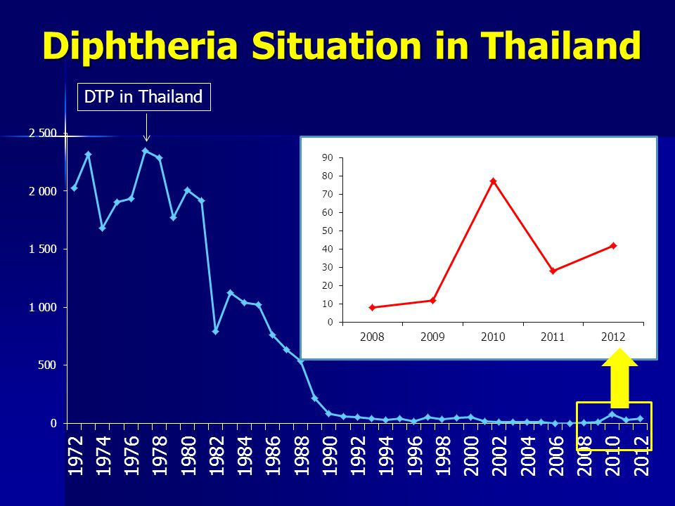 Diphtheria Situation in Thailand