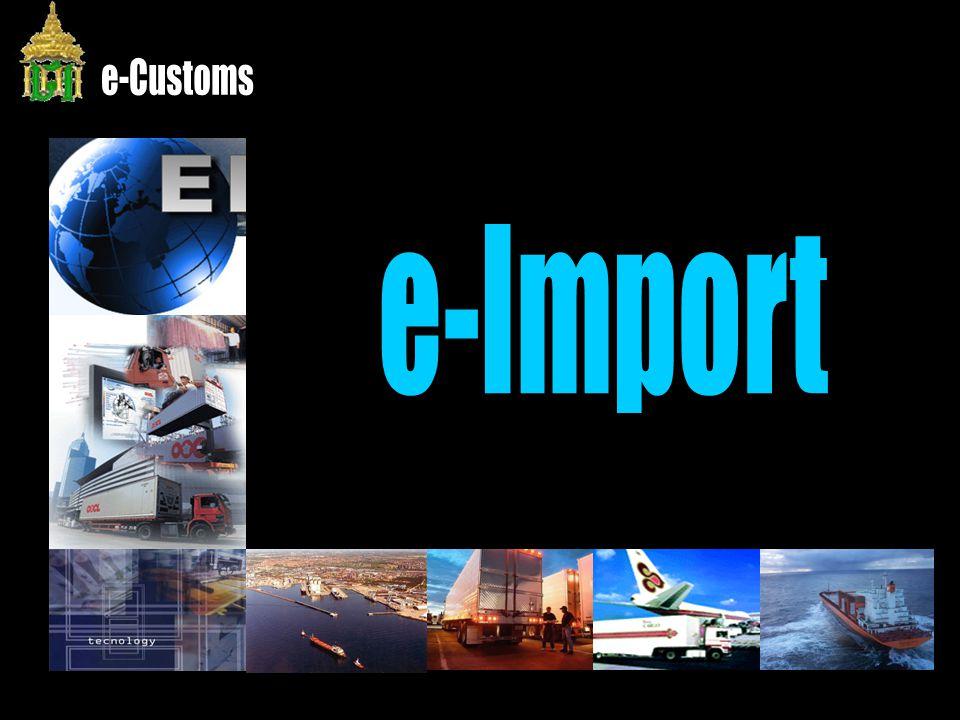 e-Customs e-Import
