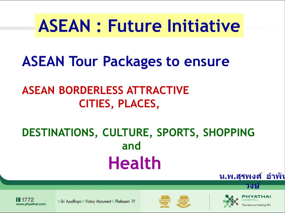 ASEAN : Future Initiative